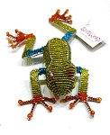 Green Beadworx Tree Frog