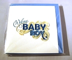 Quillling Card - Welcome Baby Boy