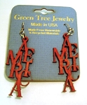 GreenTree earrings - America, CR