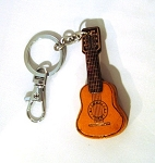 Leather Guitar Key Ring