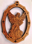 Red Alder Angel Ornament