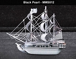 Metal Marvels Black Pearl Ship
