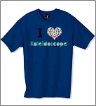 Tshirt - I heart Kaleidoscope Shop