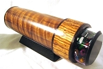 Wood Veneer Kaleidoscope by Luc and Sallie Durette