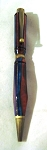 Multi ColorplyTurned Pen by Jim Duxbury