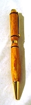 Wood Turned Pen, yellow - Duxbury