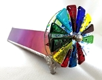 Double Fused Wheel kaleidoscope by Kathleen Hunt