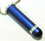 blue Teleidoscope Necklace by Koji Yamami