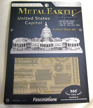 Metal Marvels United States Capitol