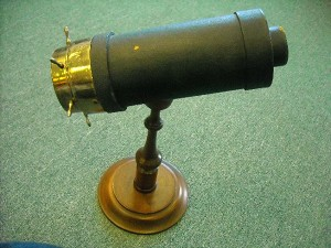 Antique kaleidoscope by Charles Bush