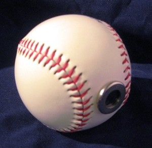Baseball teleidoscope by David Kalish