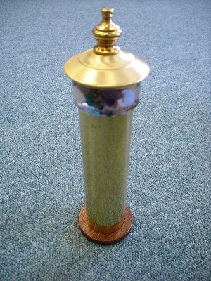 Brass Little Lighthouse kaleidoscope by David Kalish