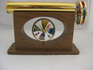 Walnut Jubilee kaleidoscope by Sheryl Koch