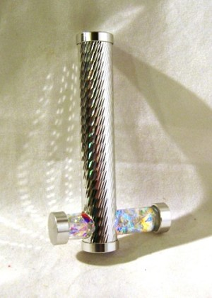 Holographic Tiny Tube kaleidoscope by Koji Yamami