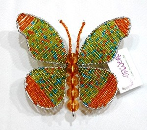 Green Beadworx Butterfly
