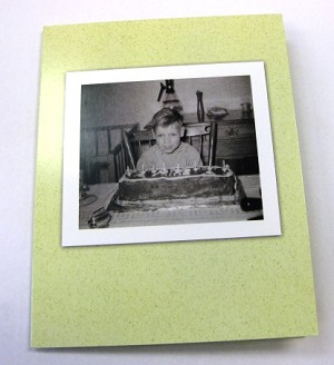 Go-Girl! Birthday Card - Birthday Cake only food