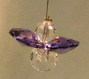 Crystal Guardian Angel, amethyst