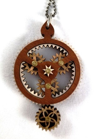 GreenTree Pendants -Kinetic Big Little Gear B
