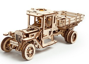 Wooden Mechanical Truck Kit by Ugears