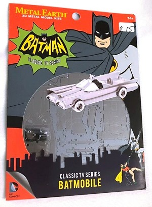 Metal Earth Batman - Batmobile Classic TV Series Model