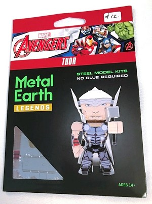 Metal Earth Legends - Marvel Avengers, Thor Model