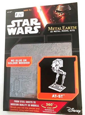 Metal Earth Star Wars - AT-ST Model