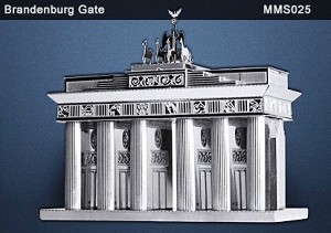 Metal Marvels Brandenburg Gate