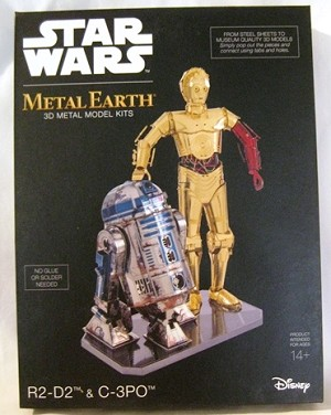 Metal Earth - Star Wars R2D2 and C3PO Deluxe