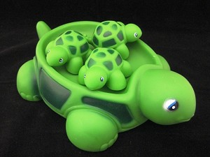 Turtle Family Bath Toy