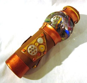 Medium SteamPunk kaleidoscope by Kari Makoutz