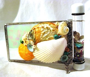 Large Seashell kaleidoscope by Cathy Painter