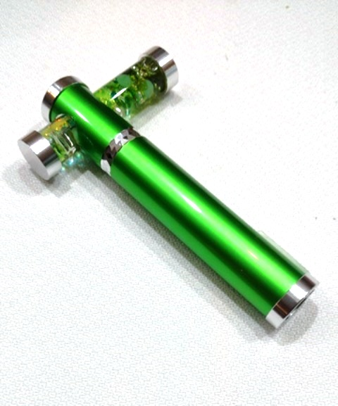 Bright Green Tiny Tube kaleidoscope by Koji Yamami