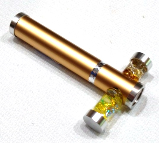 Gold Tiny Tube kaleidoscope by Koji Yamami