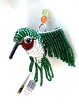 Green Beadworx Hummingbird