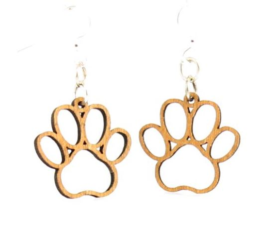 GreenTree earrings - Puppy Paw Blossoms