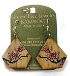 GreenTree earrings - Monarch butterfly