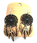 GreenTree earrings - Blue Dreamcatcher