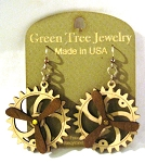 GreenTree kinetic earrings - Propeller B