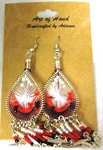 Woven Earrings with dangle5
