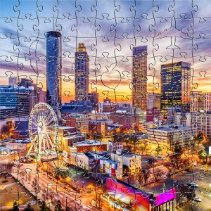Zen Puzzle Teaser - Atlanta Downtown
