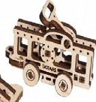 UFidgets Wooden Tram Car Kit