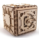 Wooden Mechanical Safe Kit by Ugears