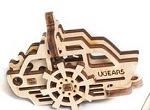 UFidgets Wooden Paddle Steamer Kit