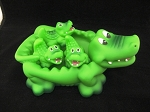 Alligator Family Bath Toy