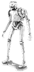 Metal Earth - Star Wars Rogue One K-2SO Model