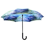 Reverse Umbrella - Monet Water Lilies