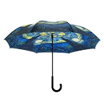 Reverse Umbrella - Van Gogh Starry Night