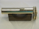 Small Classic Agate Brass 2 wheel kaleidoscope by Janice Chesnik