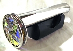 Classic Agate Chrome 2 wheel kaleidoscope by Janice Chesnik