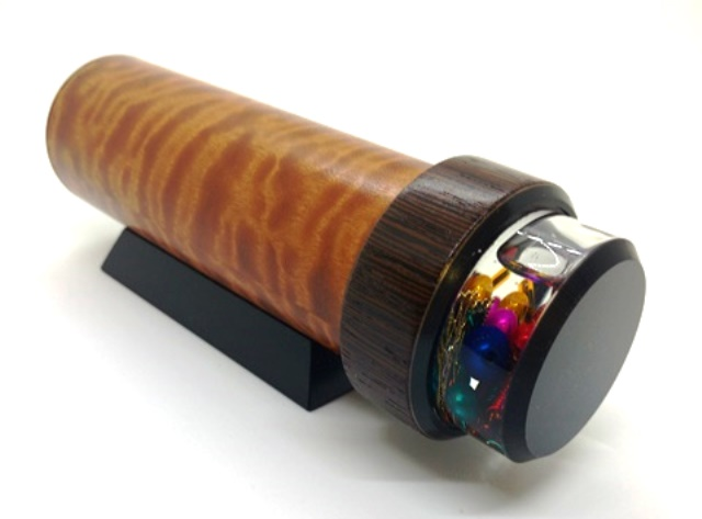 Bosse cedar 3 mirror Kaleidoscope by Luc and Sallie Durette